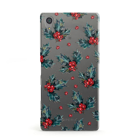 Holly & berry Sony Case