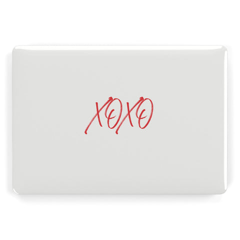 I love you like xo Macbook Case