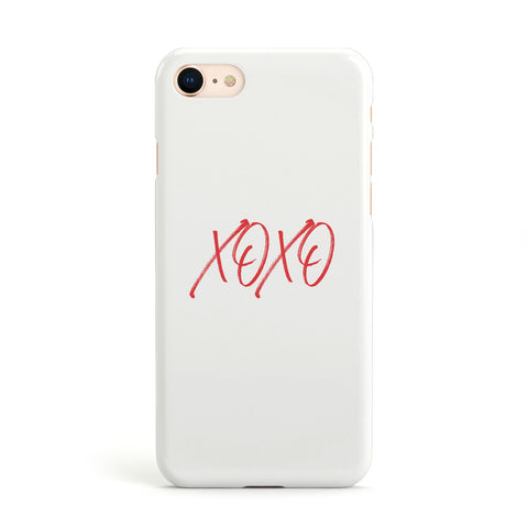 I love you like xo iPhone Case