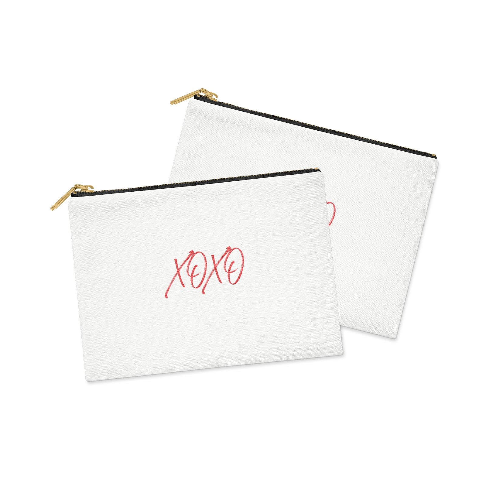 I love you like xo Clutch Bag Zipper Pouch Alternative View