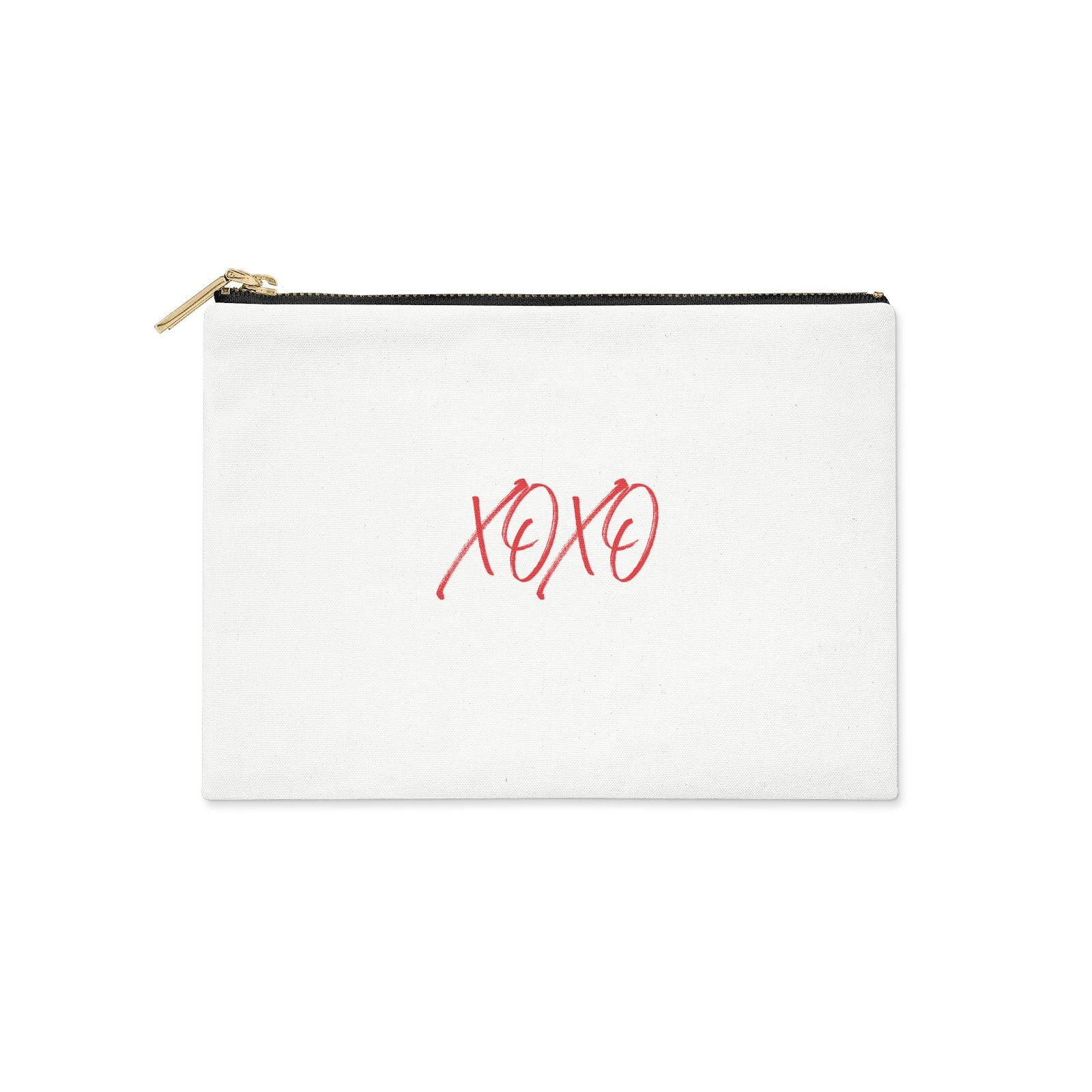 I love you like xo Clutch Bag Zipper Pouch
