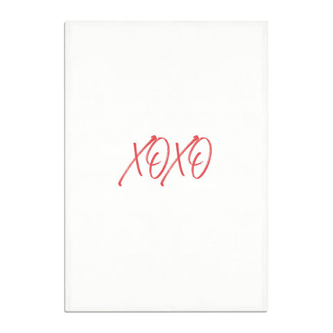 I love you like xo Tea Towel
