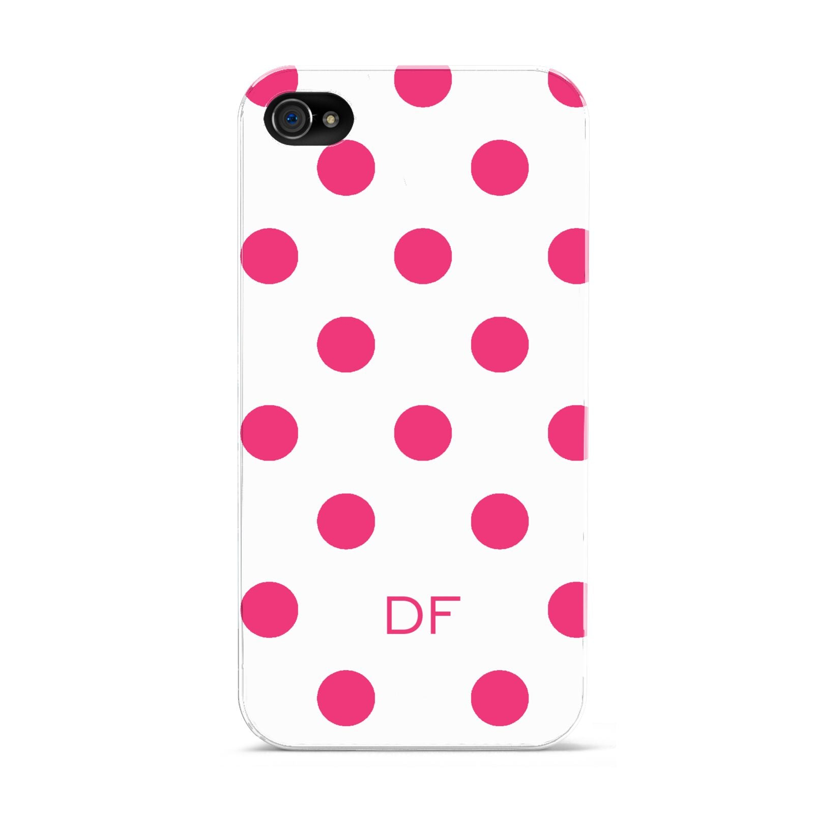 Initial Dots Personalised Apple iPhone 4s Case