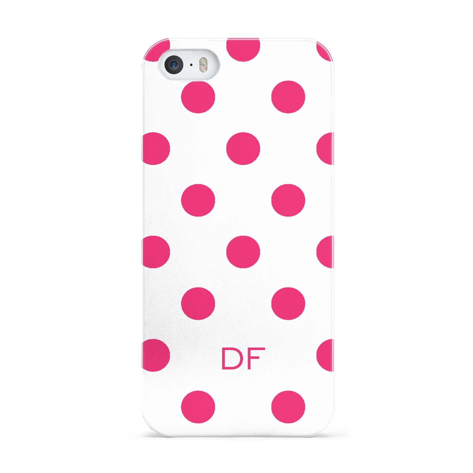 Initial Dots Personalised Apple iPhone 5 Case