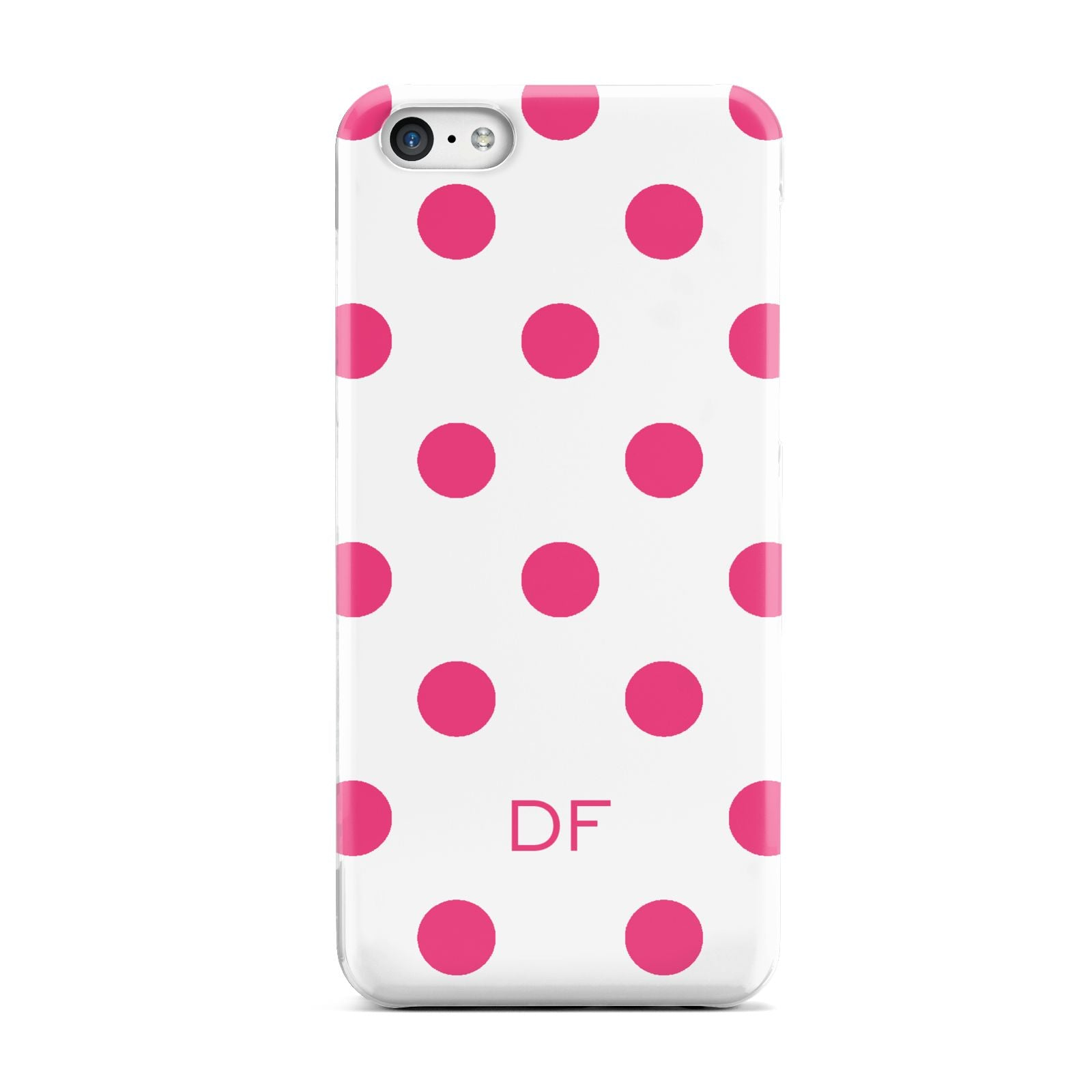 Initial Dots Personalised Apple iPhone 5c Case