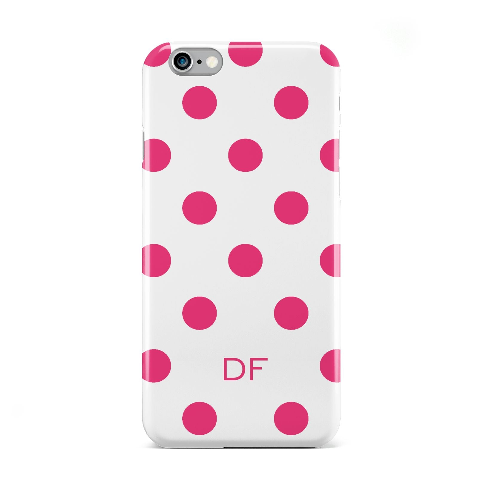 Initial Dots Personalised Apple iPhone 6 Case
