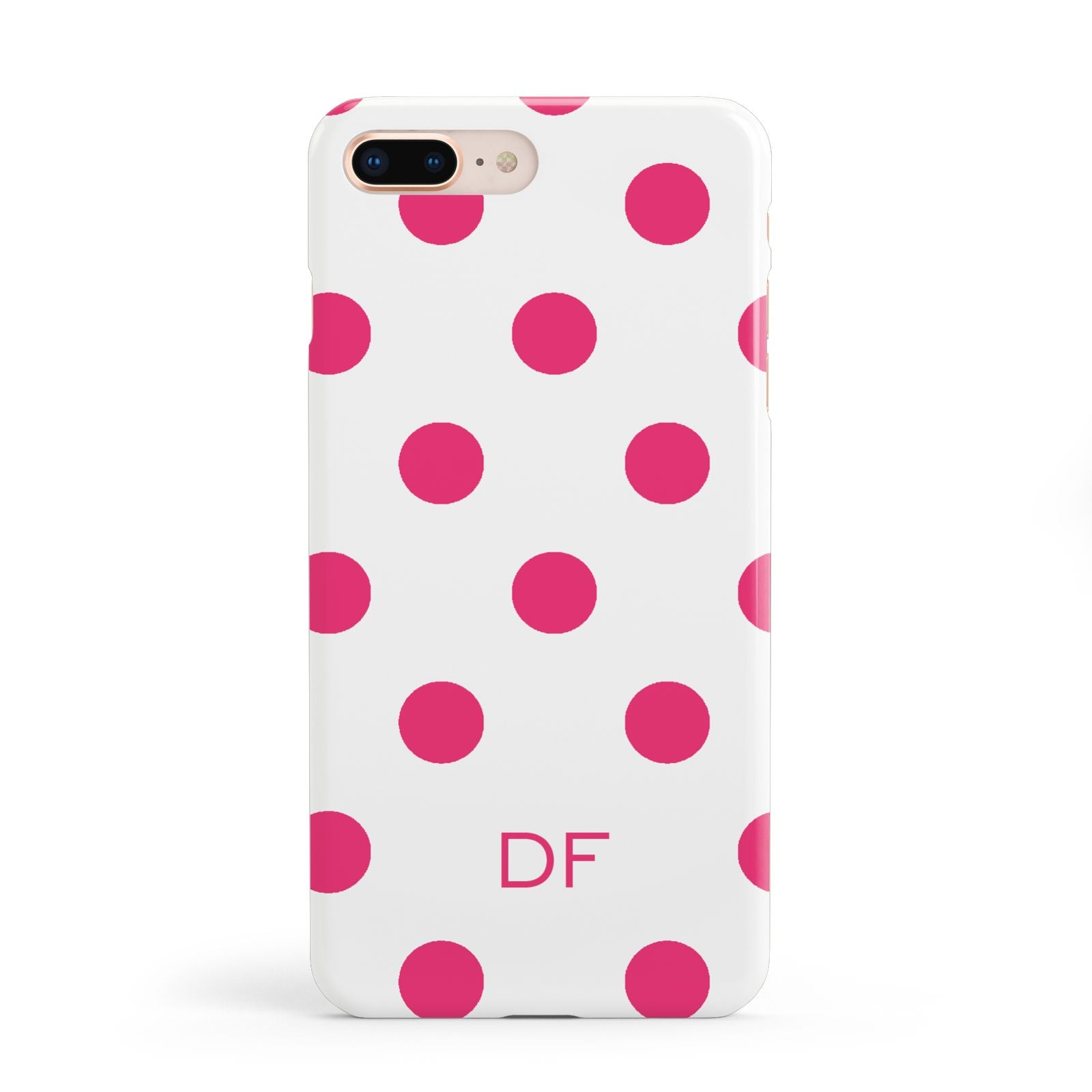 Initial Dots Personalised Apple iPhone 8 Plus Case