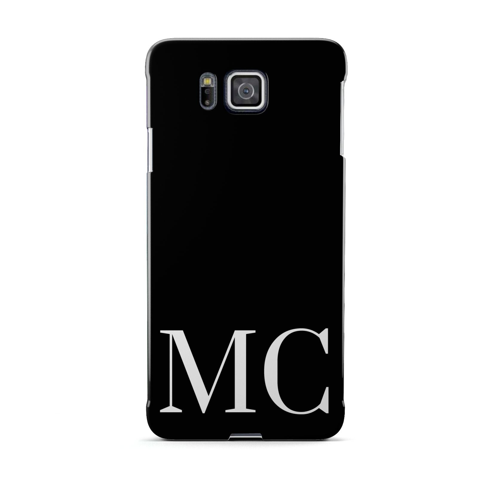 Initials Personalised 1 Samsung Galaxy Alpha Case