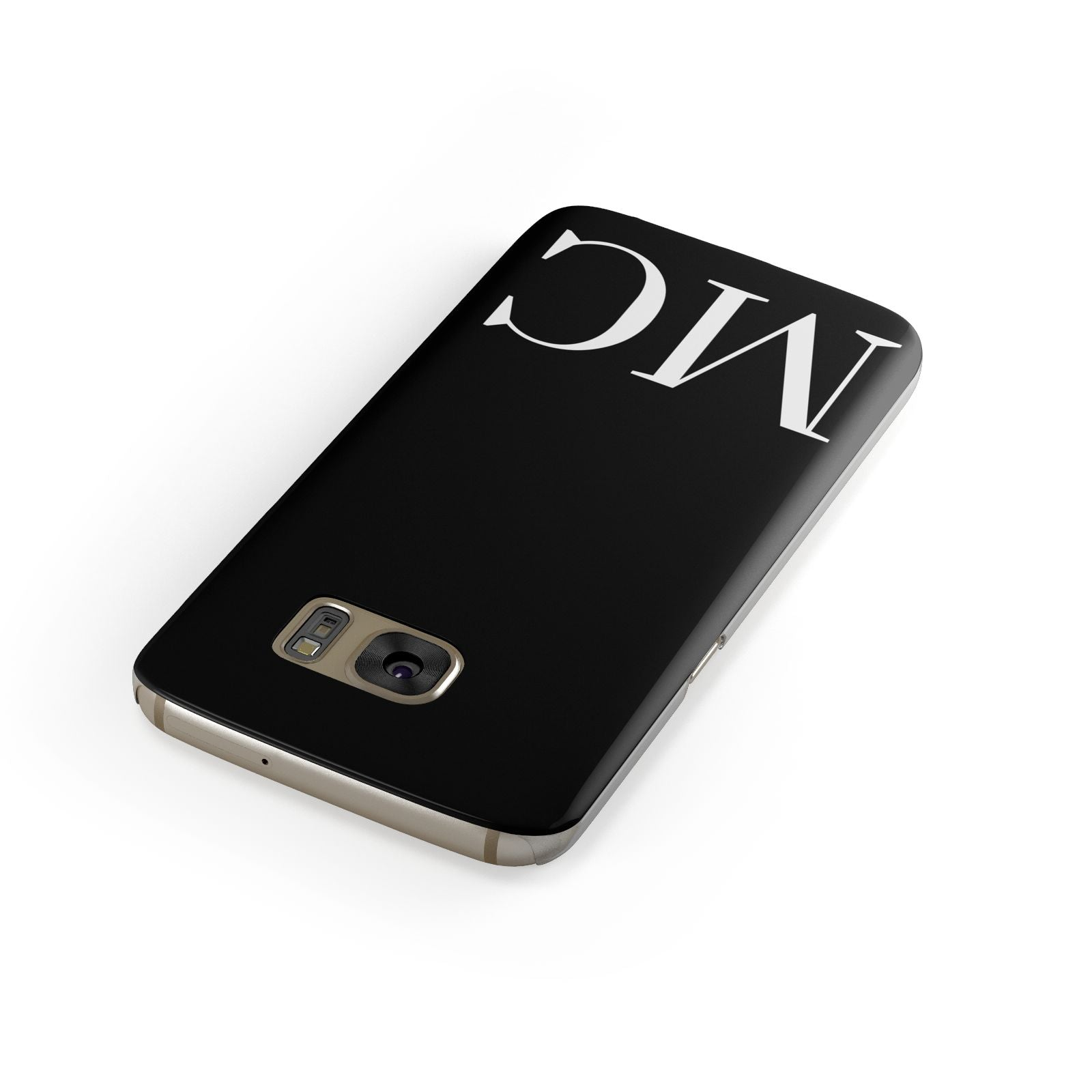 Initials Personalised 1 Samsung Galaxy Case Front Close Up