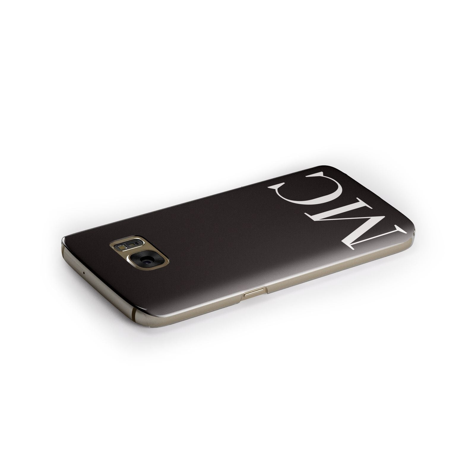 Initials Personalised 1 Samsung Galaxy Case Side Close Up