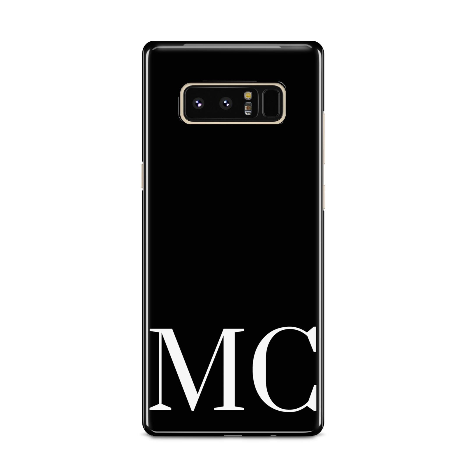 Initials Personalised 1 Samsung Galaxy Note 8 Case