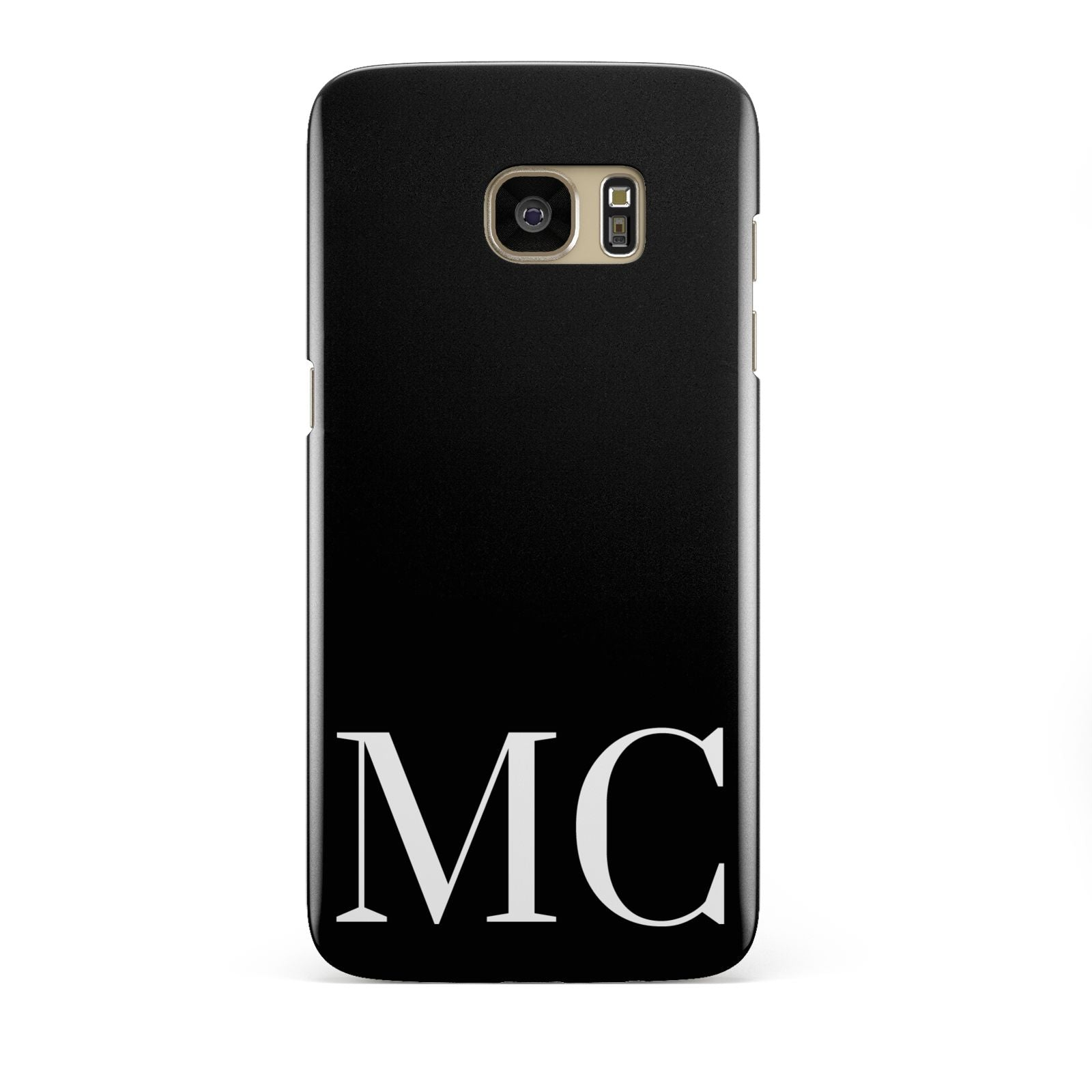 Initials Personalised 1 Samsung Galaxy S7 Edge Case