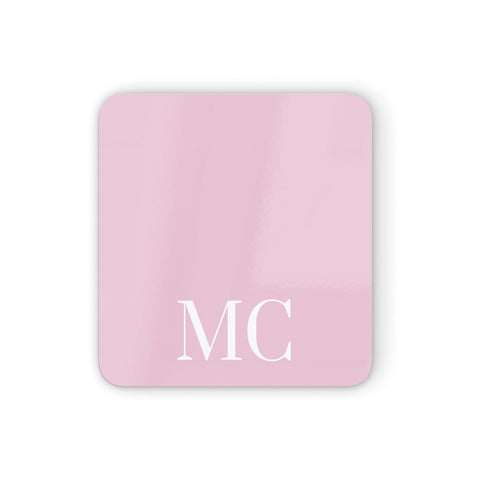 Initials Personalised 2 Coasters set of 4