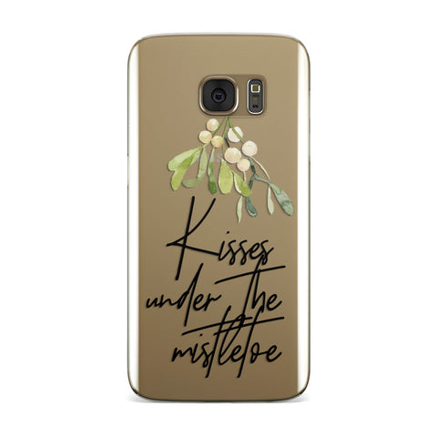 Kisses Under The Mistletoe Samsung Galaxy Case