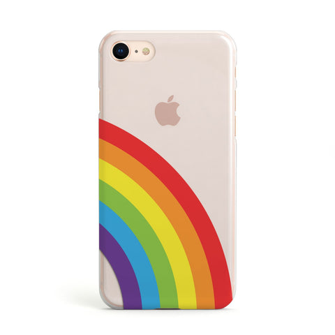 Large Rainbow iPhone Case