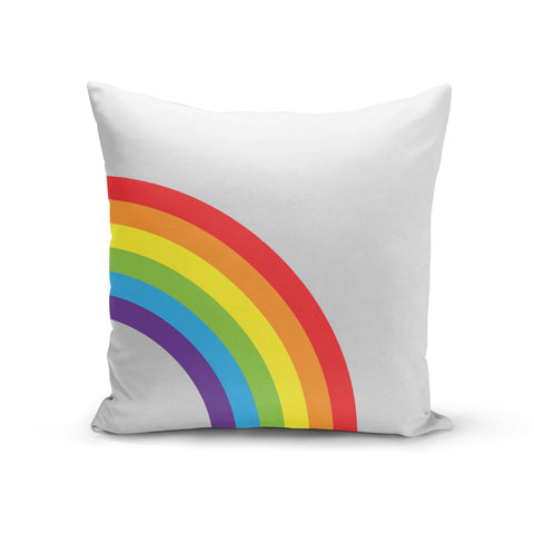 Large Rainbow Cushion