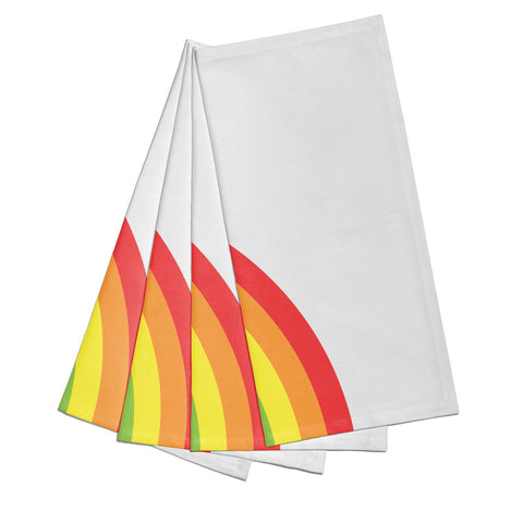 Large Rainbow Napkins