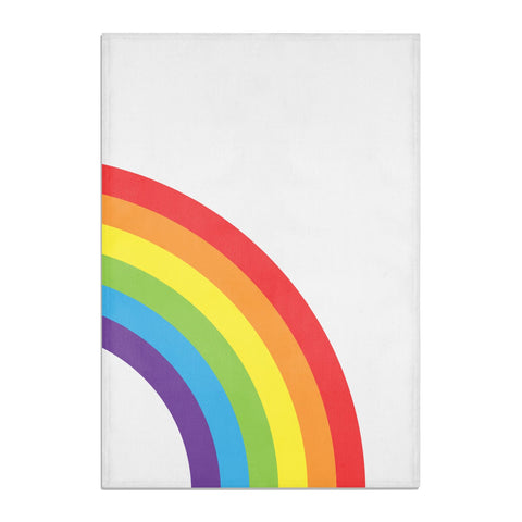 Large Rainbow Tea Towel
