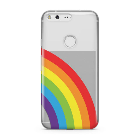 Large Rainbow Google Case