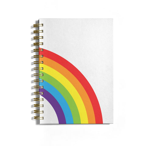 Large Rainbow Notebook
