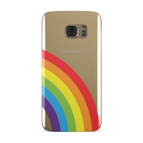 Large Rainbow Samsung Galaxy Case