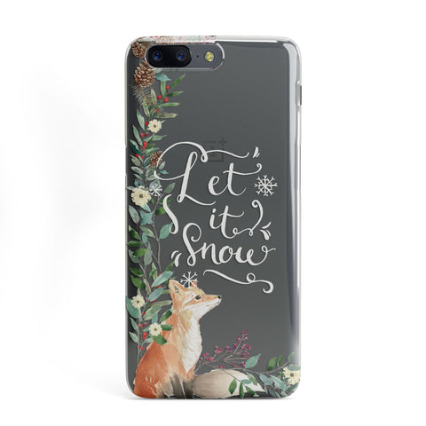 Let It Snow Christmas OnePlus Case