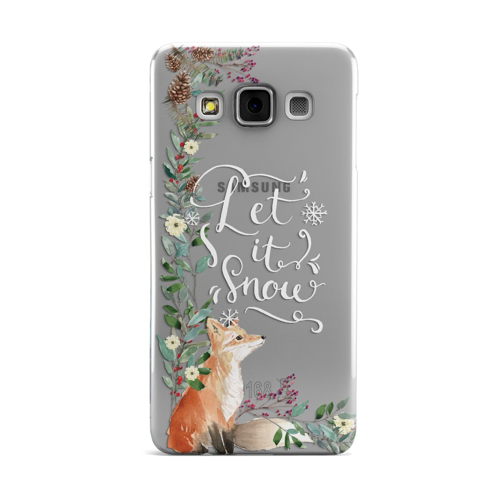 Let It Snow Christmas Samsung Galaxy A3 Case