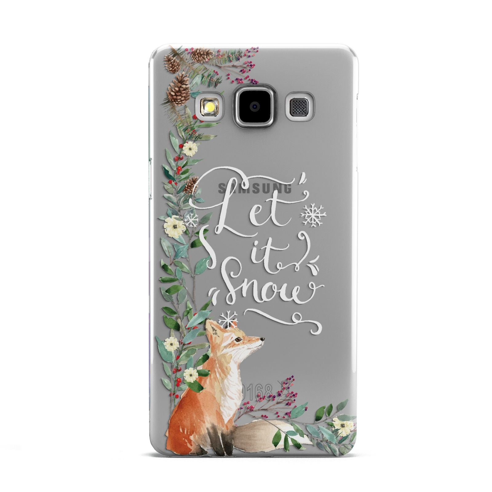 Let It Snow Christmas Samsung Galaxy A5 Case