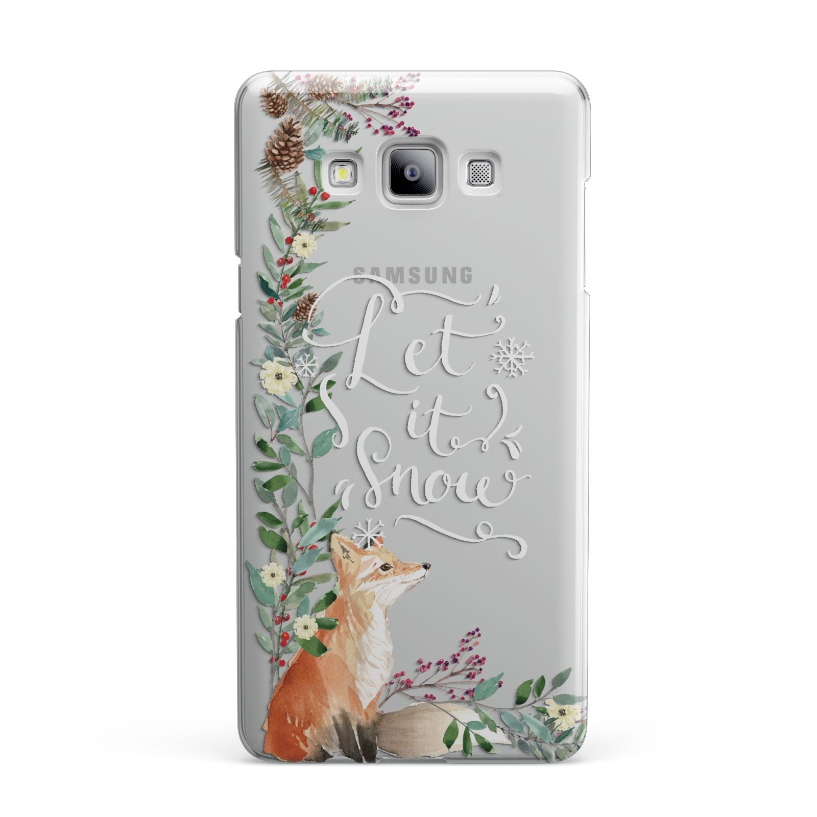Let It Snow Christmas Samsung Galaxy A7 2015 Case