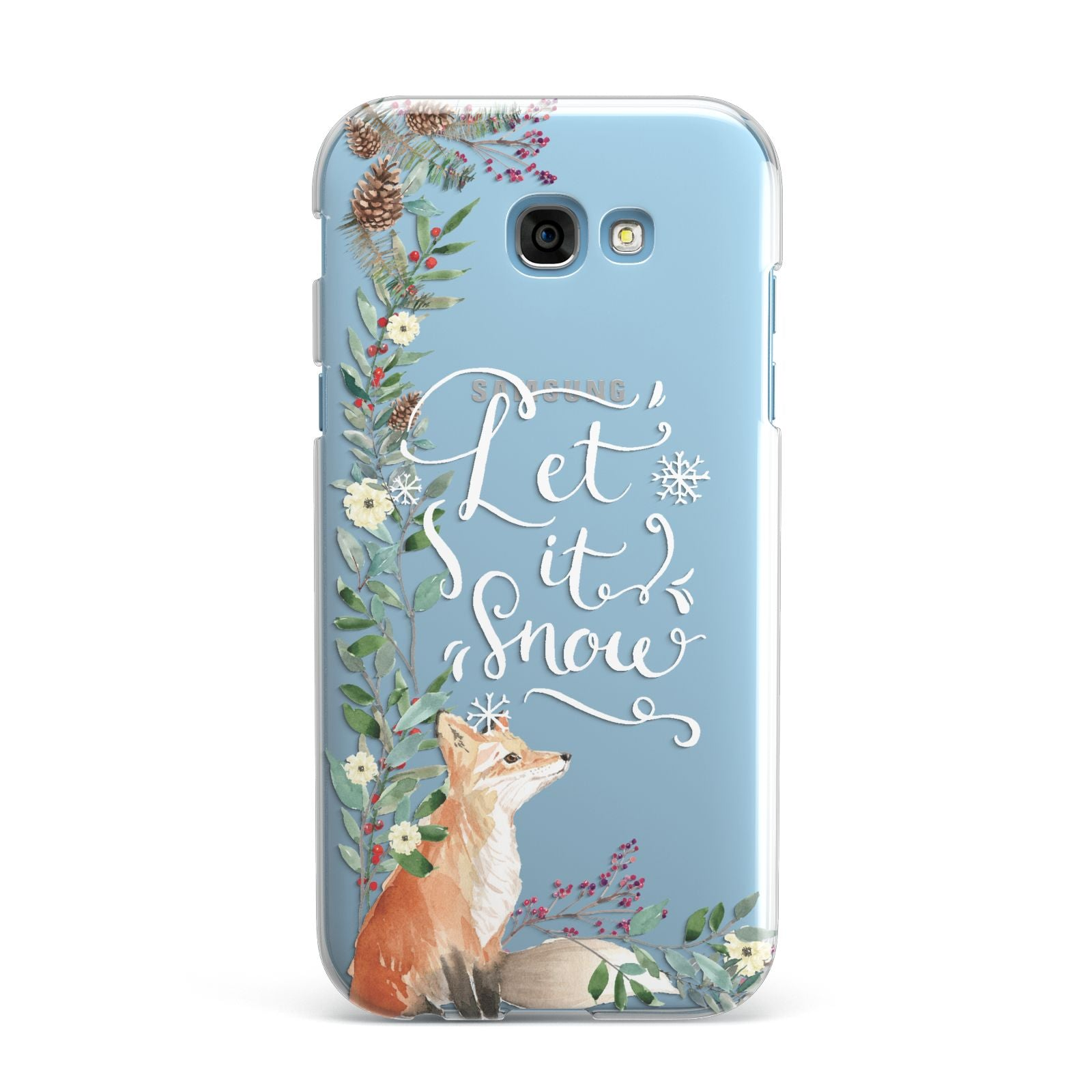 Let It Snow Christmas Samsung Galaxy A7 2017 Case