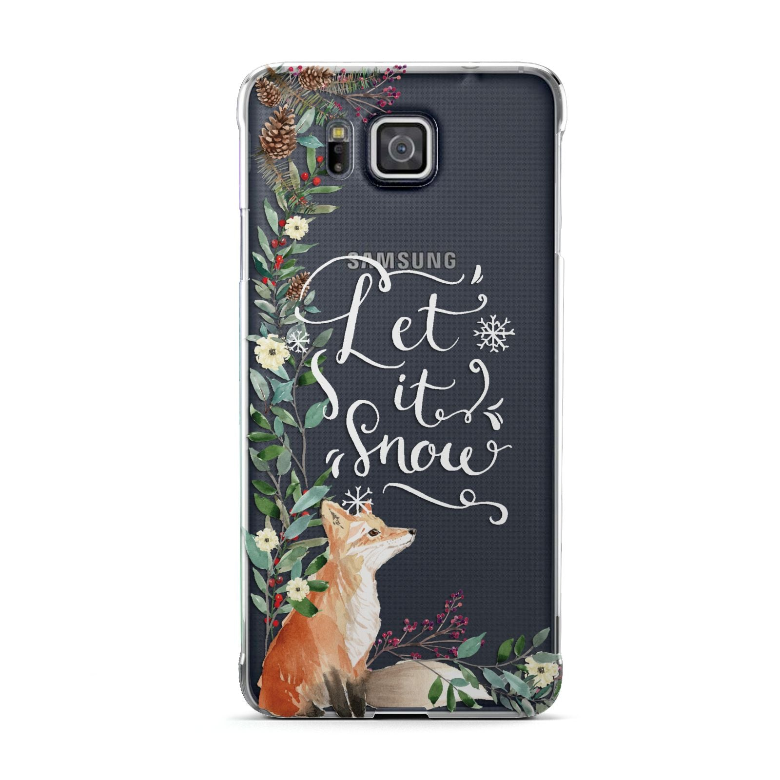 Let It Snow Christmas Samsung Galaxy Alpha Case