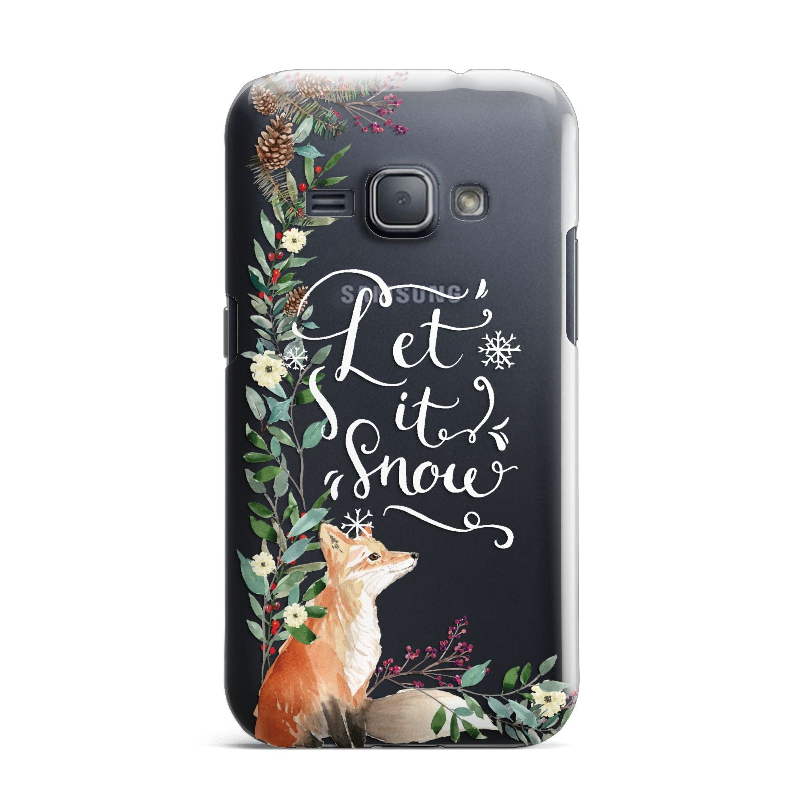 Let It Snow Christmas Samsung Galaxy J1 2016 Case