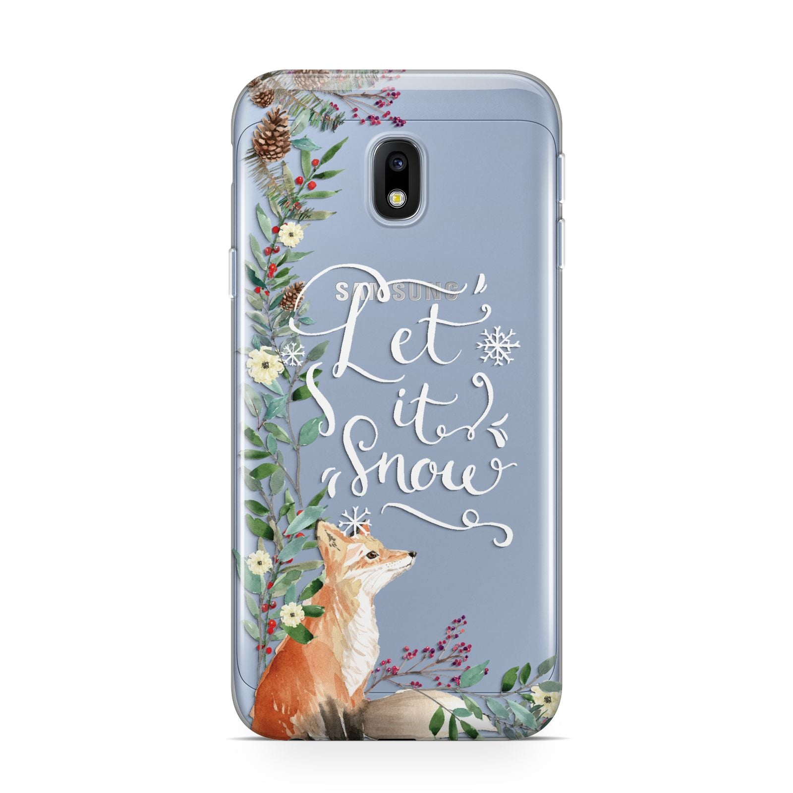 Let It Snow Christmas Samsung Galaxy J3 2017 Case