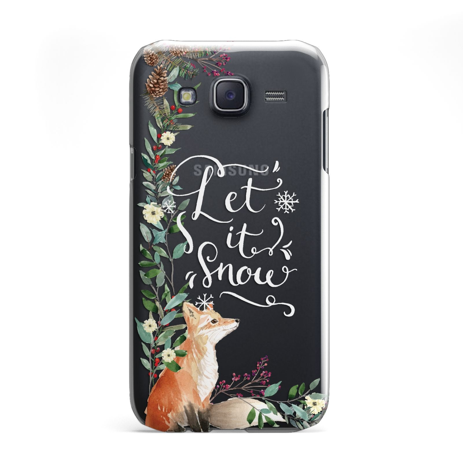 Let It Snow Christmas Samsung Galaxy J5 Case