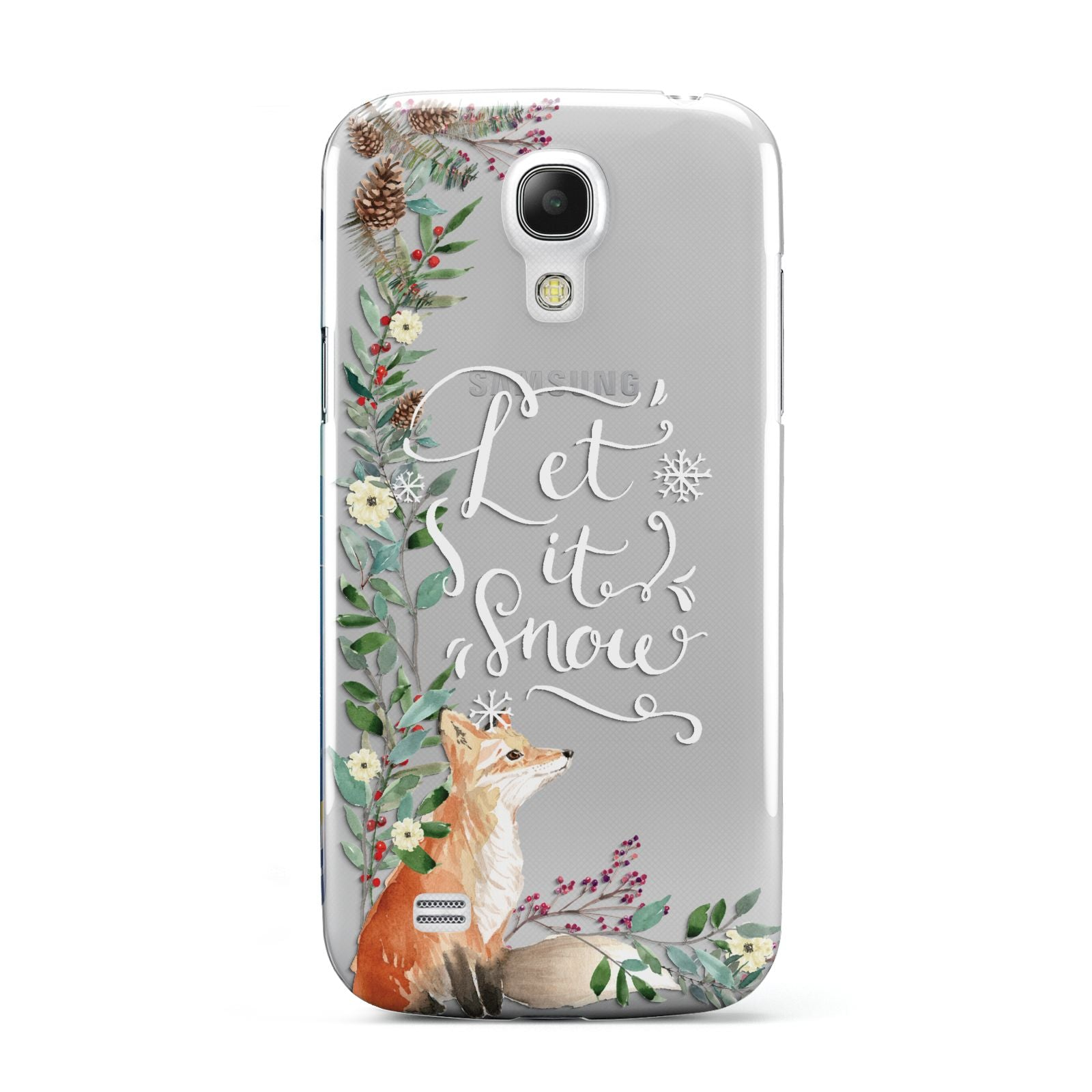 Let It Snow Christmas Samsung Galaxy S4 Mini Case