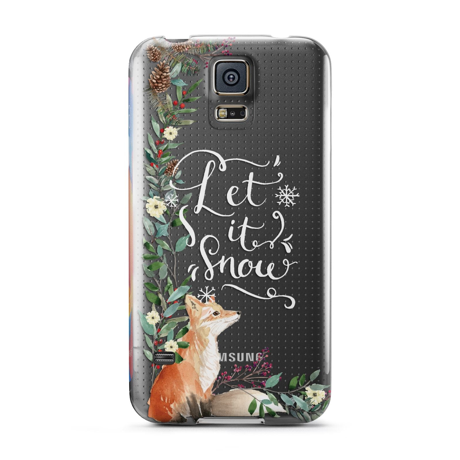 Let It Snow Christmas Samsung Galaxy S5 Case