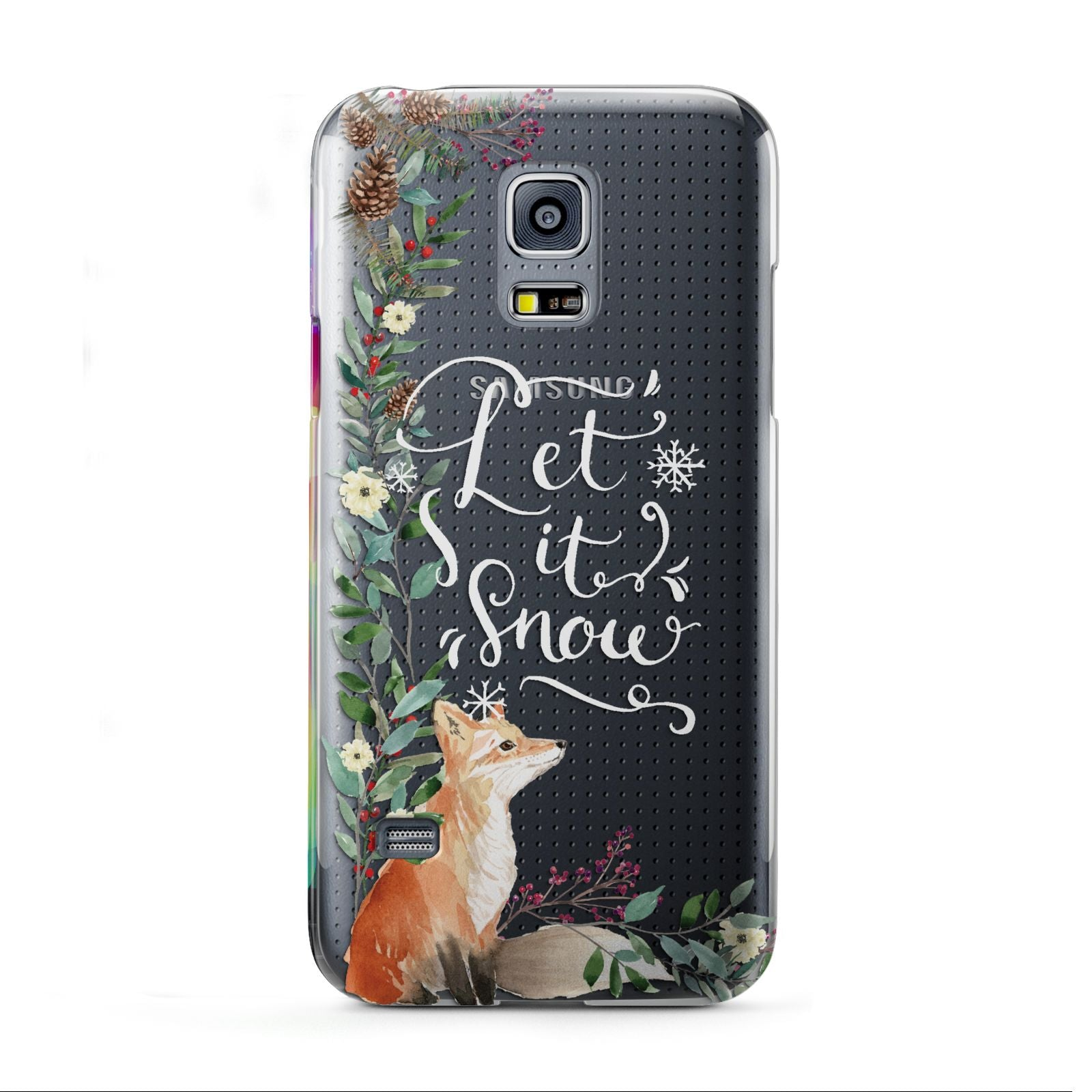 Let It Snow Christmas Samsung Galaxy S5 Mini Case