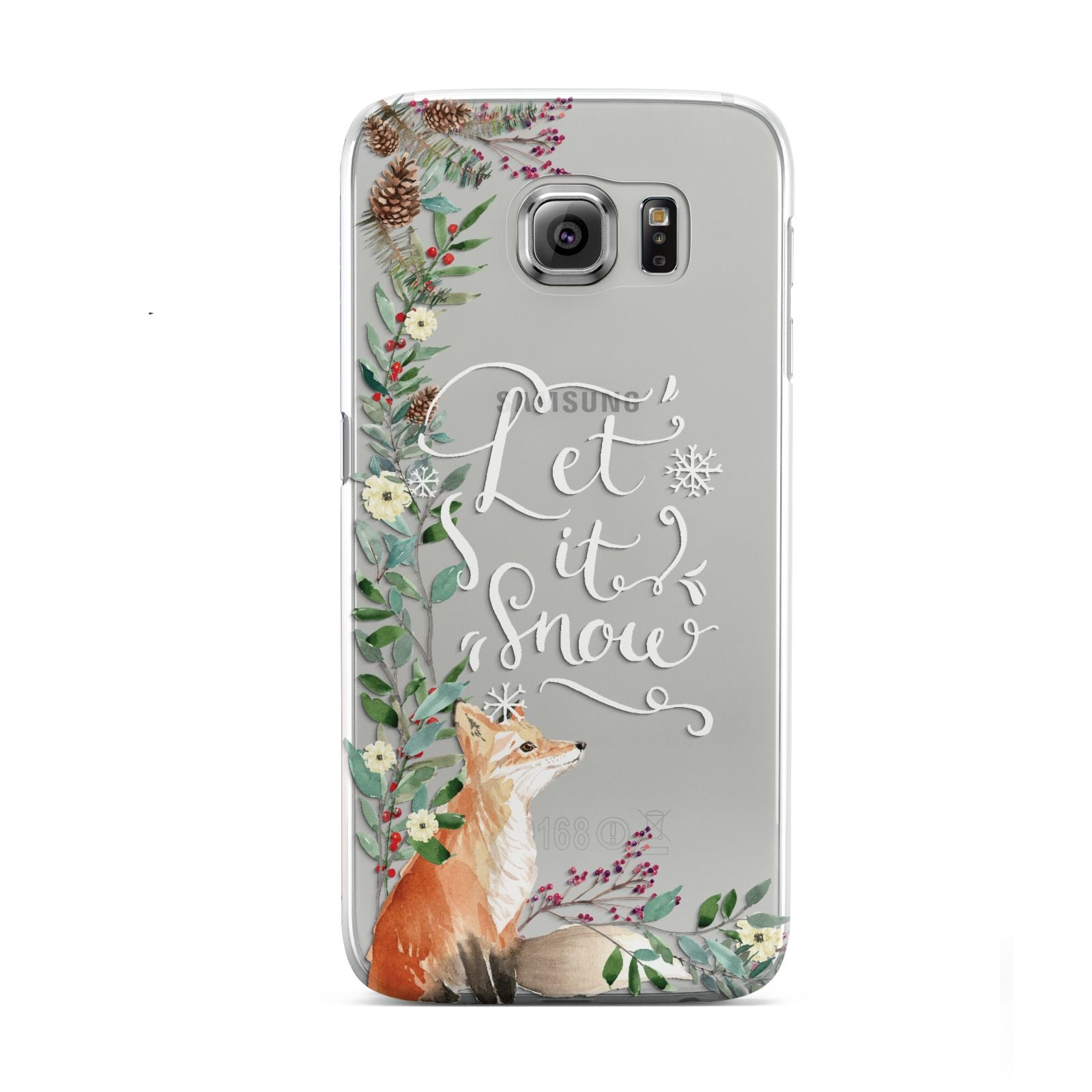 Let It Snow Christmas Samsung Galaxy S6 Case