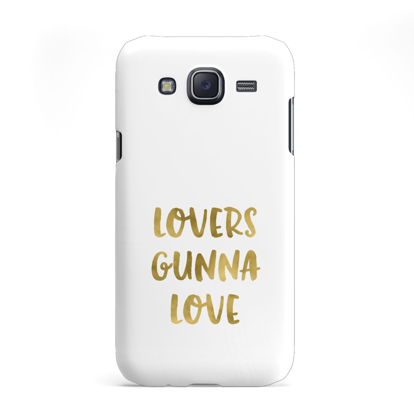 Lovers Gunna Love Real Gold Foil Samsung Galaxy J5 Case