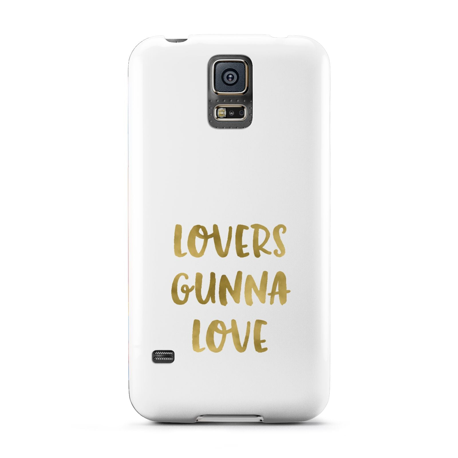 Lovers Gunna Love Real Gold Foil Samsung Galaxy S5 Case
