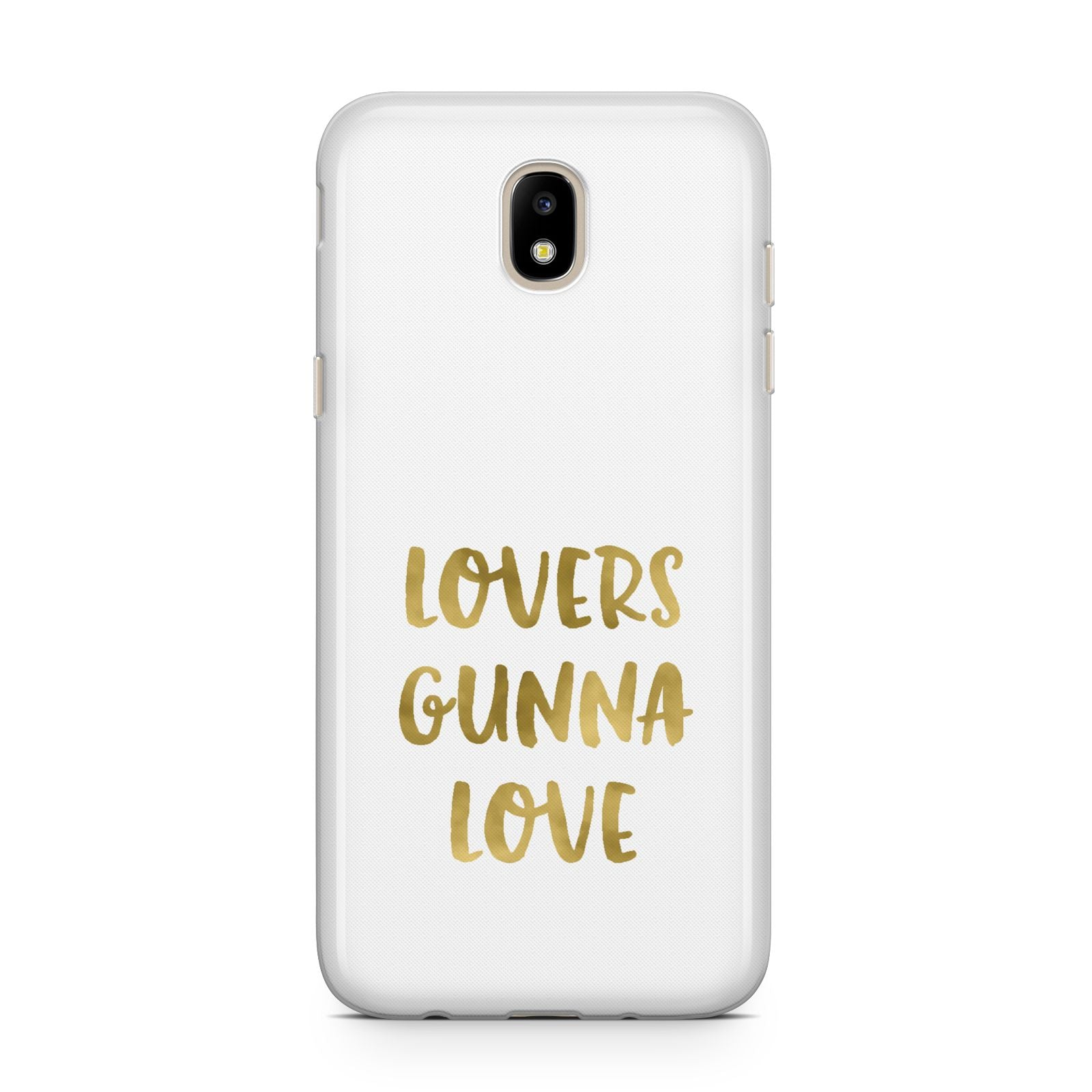 Lovers Gunna Love Real Gold Foil Samsung J5 2017 Case