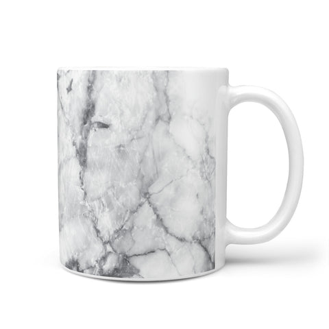 Marble Initials Triangle Personalised Mug