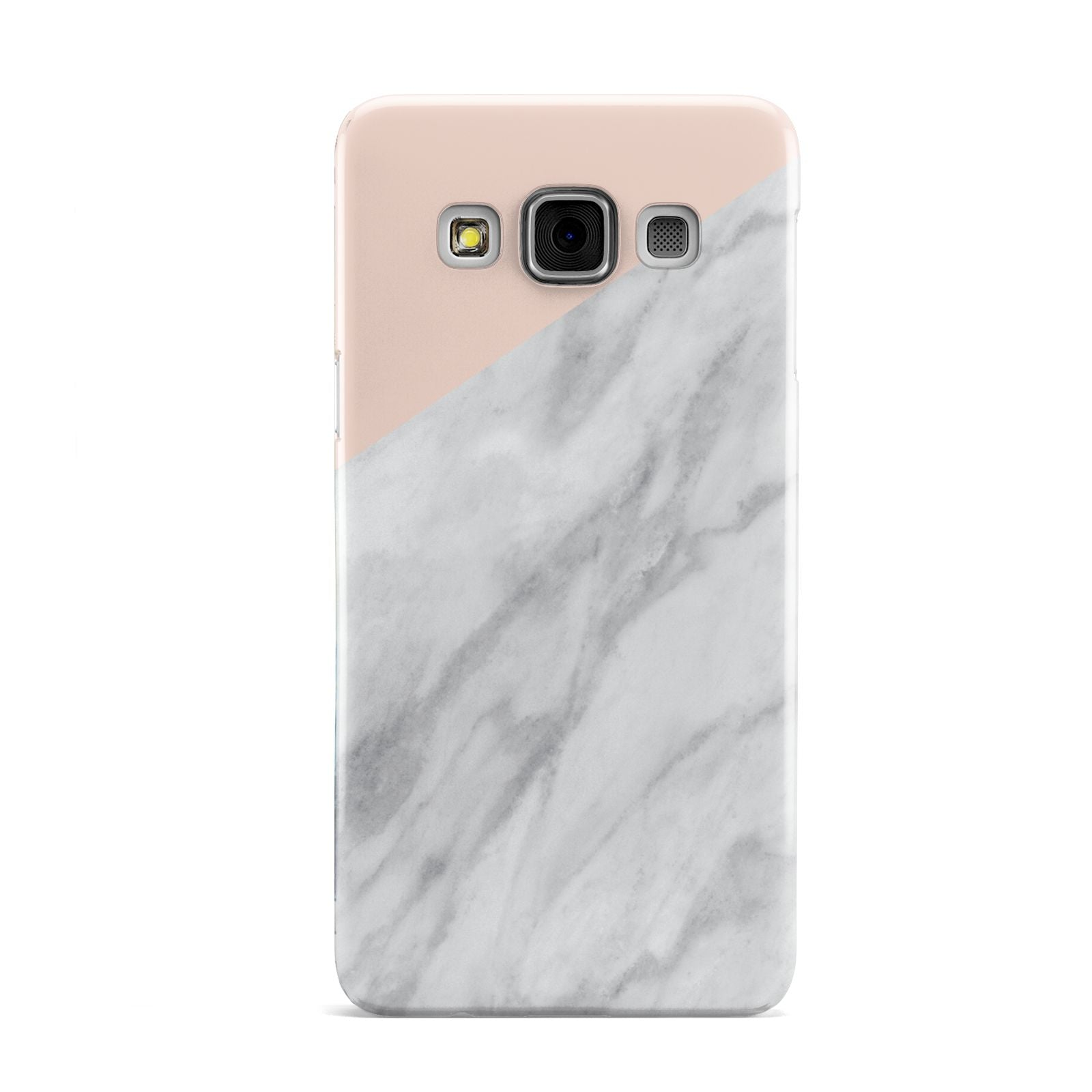 Marble Pink White Grey Samsung Galaxy A3 Case