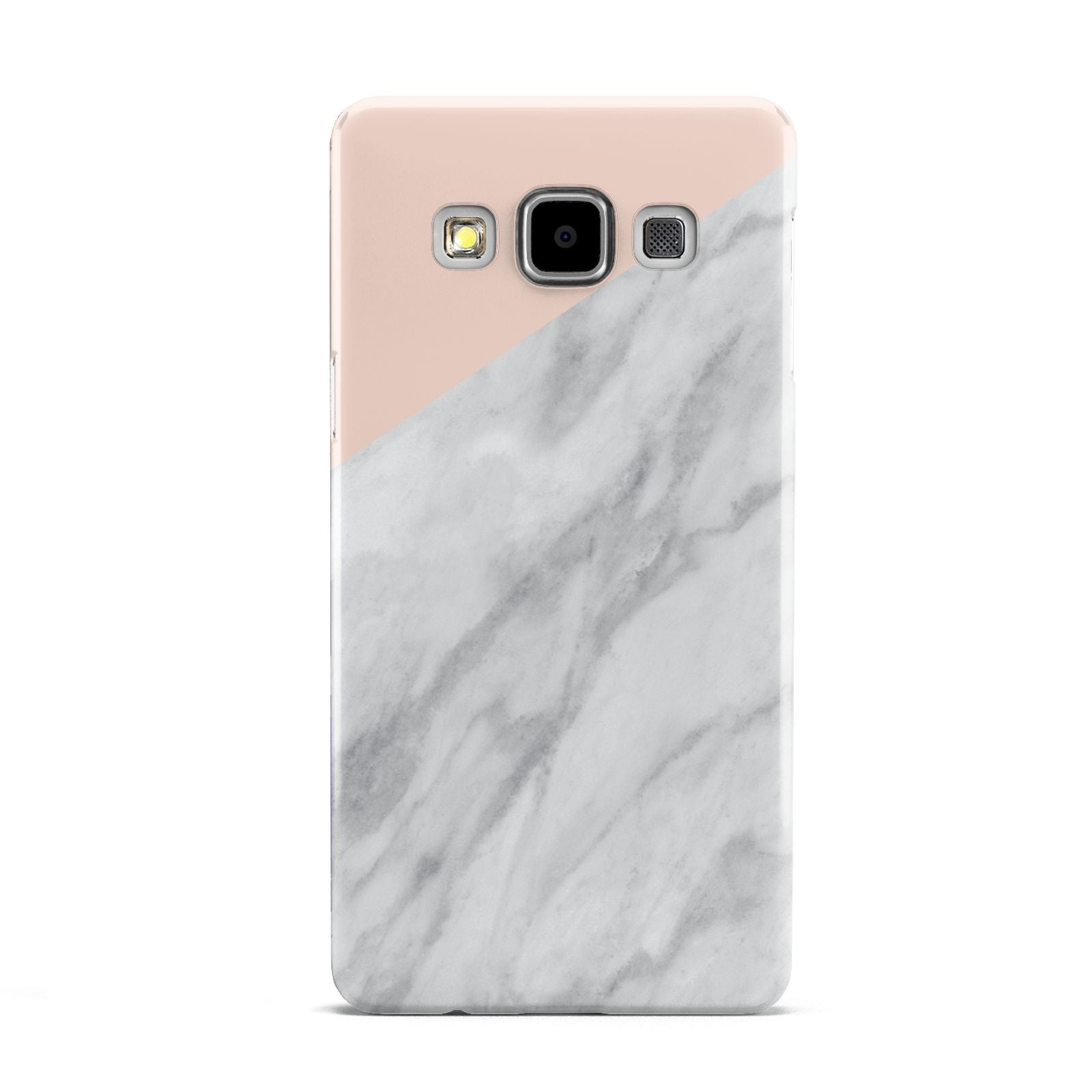 Marble Pink White Grey Samsung Galaxy A5 Case