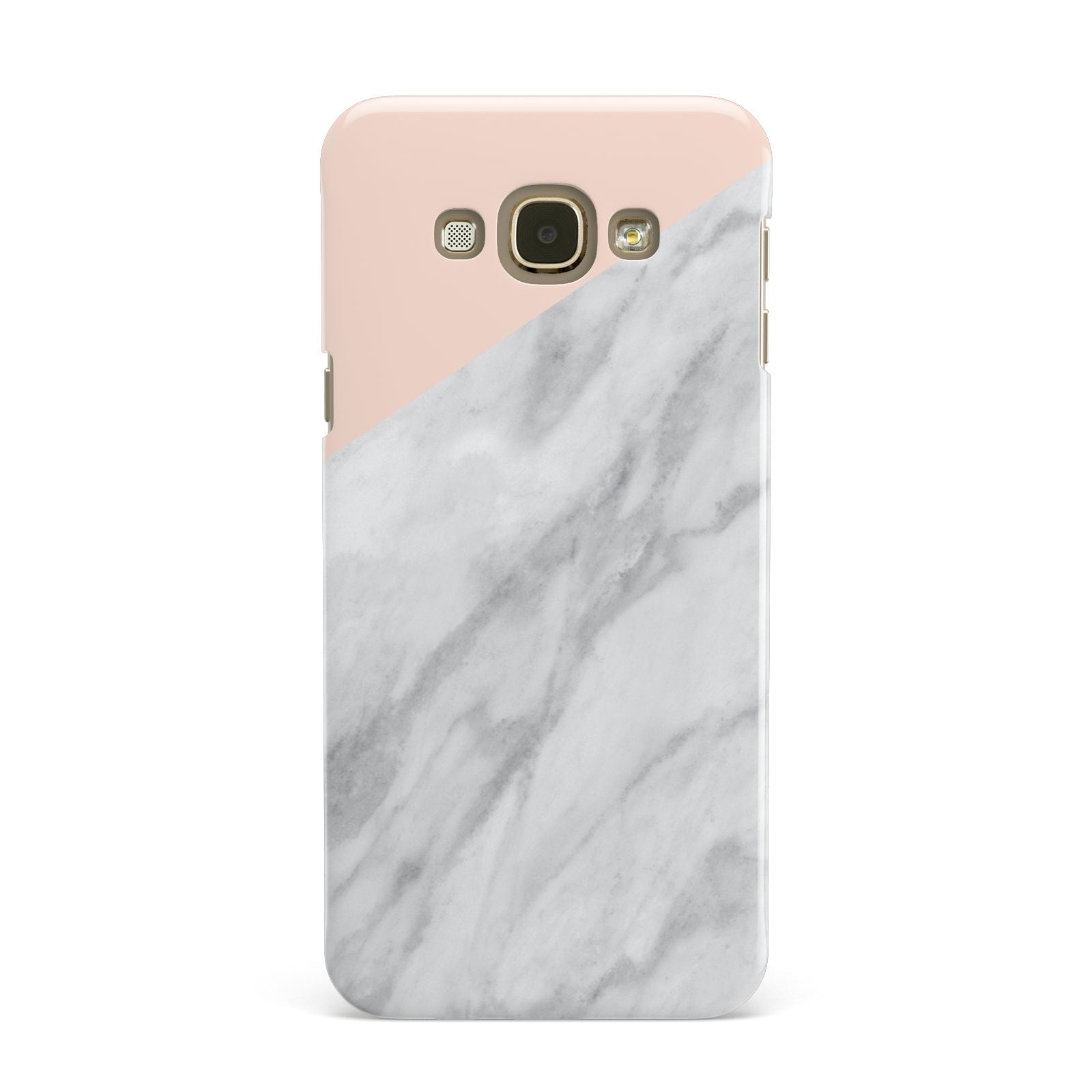 Marble Pink White Grey Samsung Galaxy A8 Case