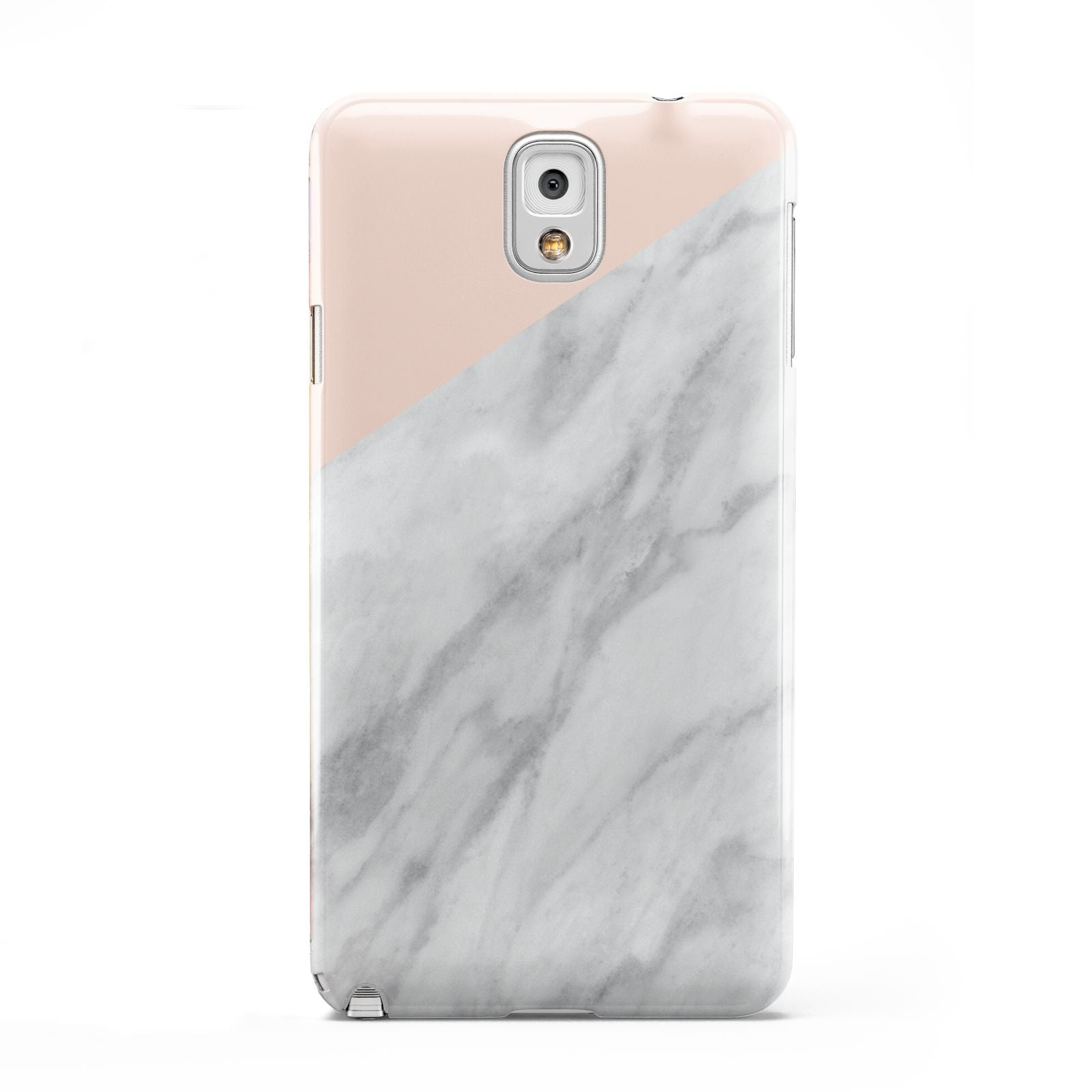 Marble Pink White Grey Samsung Galaxy Note 3 Case