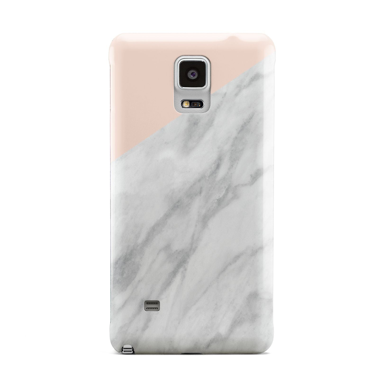 Marble Pink White Grey Samsung Galaxy Note 4 Case