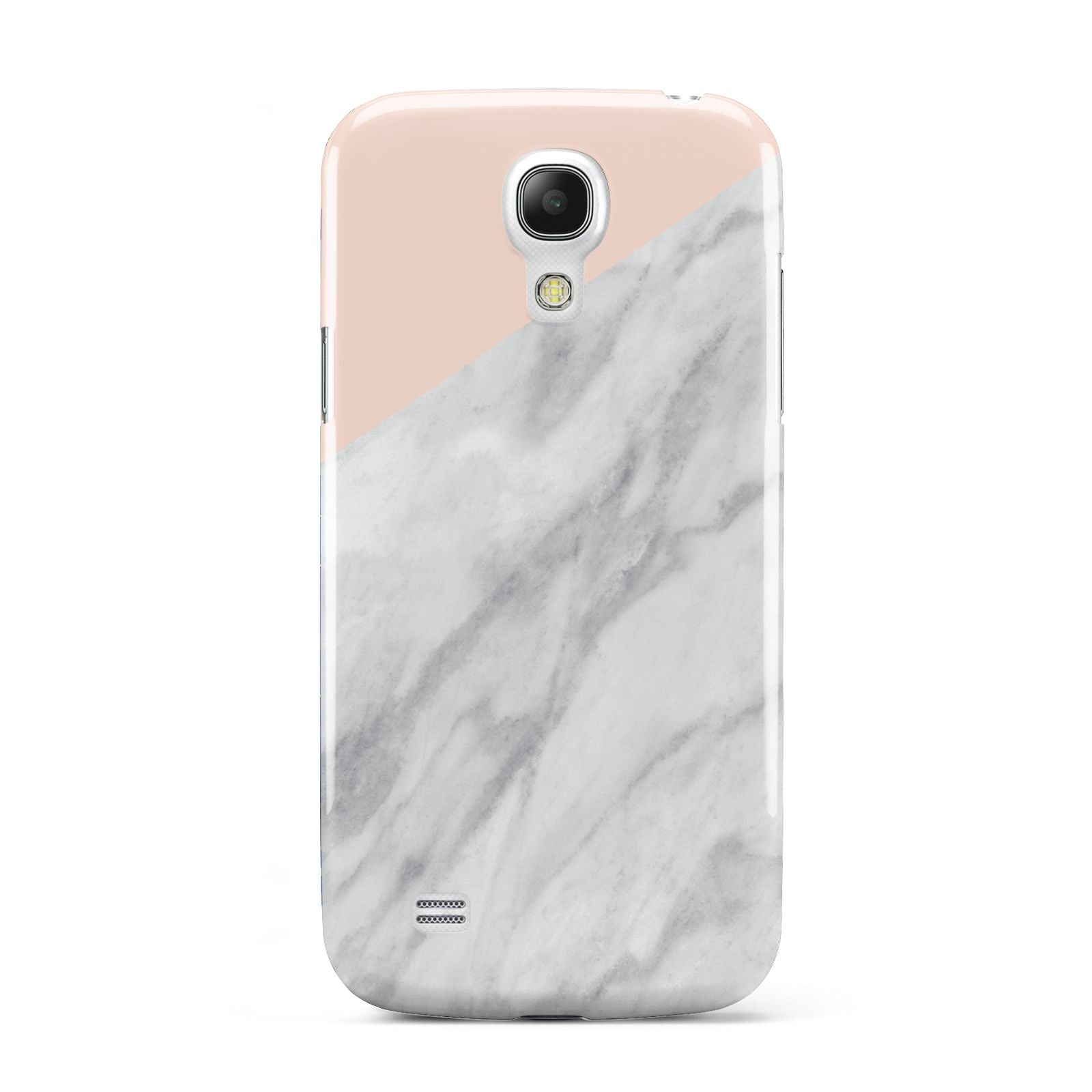 Marble Pink White Grey Samsung Galaxy S4 Mini Case
