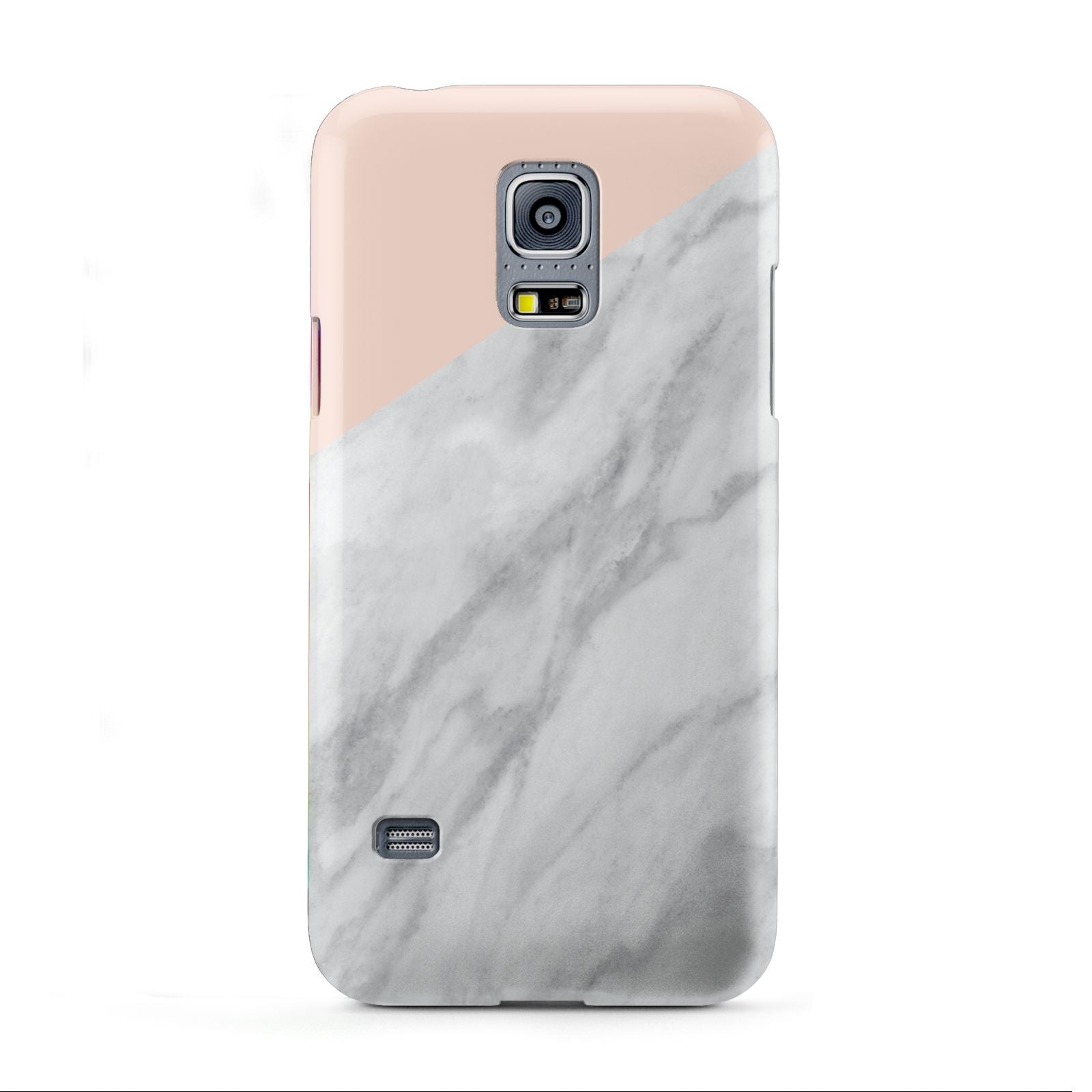 Marble Pink White Grey Samsung Galaxy S5 Mini Case