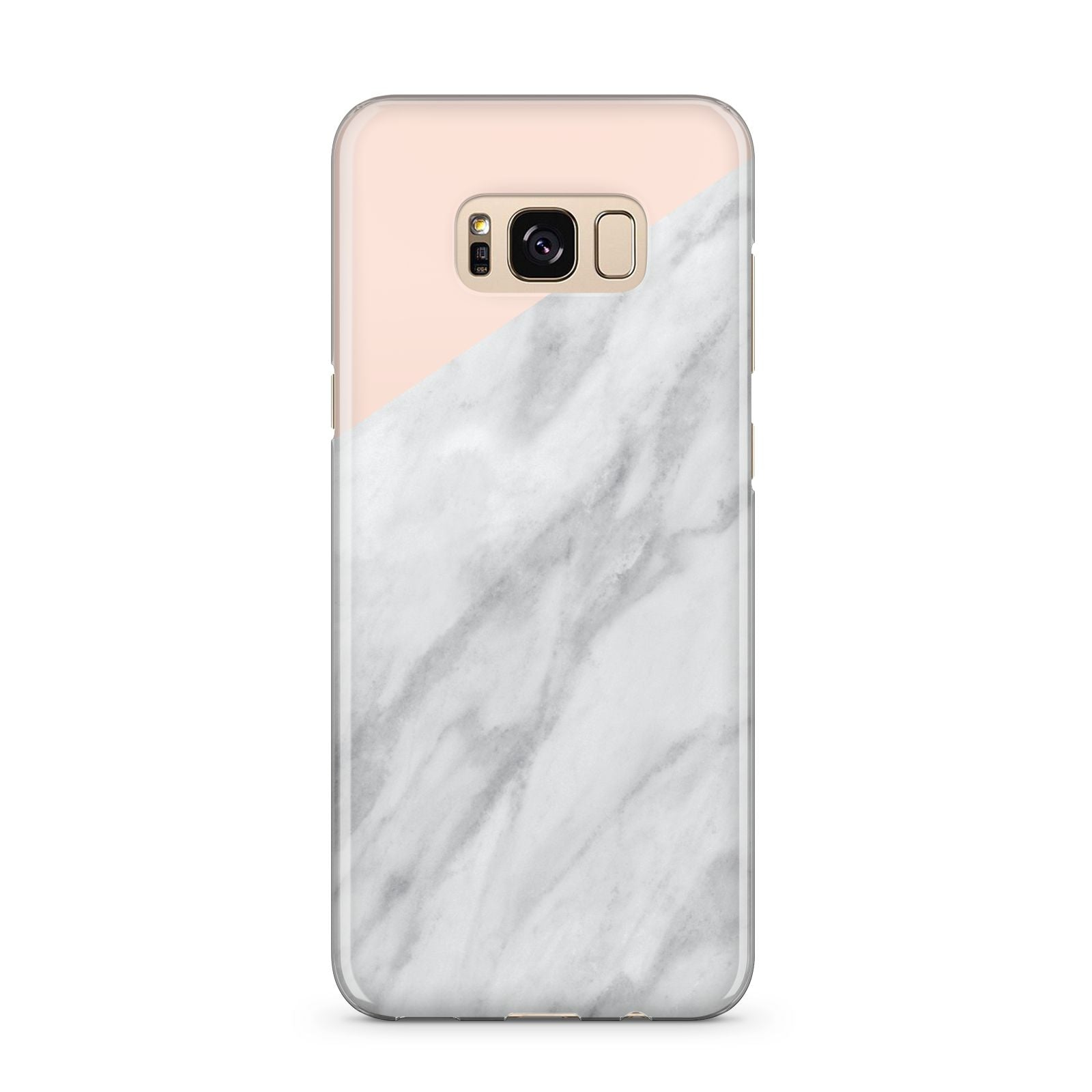 Marble Pink White Grey Samsung Galaxy S8 Plus Case